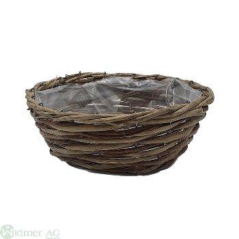 Korb rund oH., D23H8.5 cm