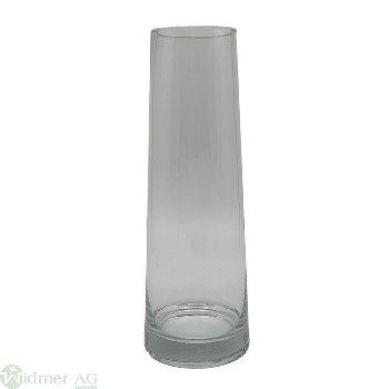 Glasvase D7.4H30 cm D-Oben: 7.4 cm D-Unten: 11 cm