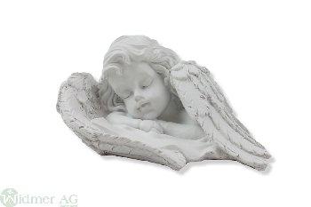 Engelkopf mit Flügel, 14 cm