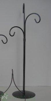 Ständer x3 H58 cm, ohne Glas