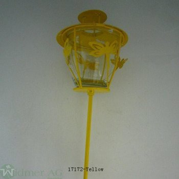 Laterne auf Stab, D11H80 cm