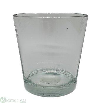 Glas D13H13.5 cm