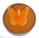 Schmetterl.-Teelicht D4c, 6/Bx