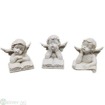 Engel auf Buch S/3, H4.3 cm