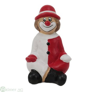 Clown sitzend, H9 cm