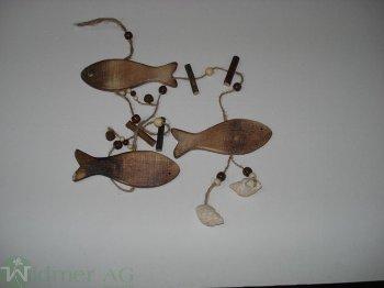Fisch-Girlande, L90 cm