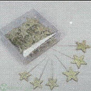 Stern auf Draht, 3-4 cm, 48/BX