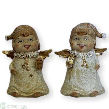 Engel mit Mütze S/2, 18 cm