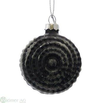 Glaskugel mit Dekor, D6 cm