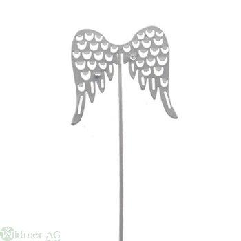 Flügel auf Draht, 5x26 cm