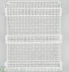Wandregal x3, H45 cm Gr: 36x15.5H45 cm