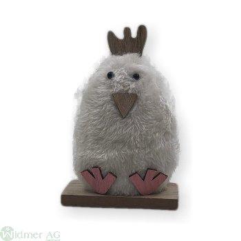 Tischedeko Huhn, H14 cm
