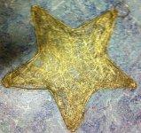 Stern 12 cm mit Stiel
