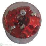 Glasstern D3.5 cm, 24Stk/Bx
